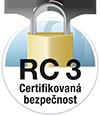 RC 3 zertifizierte Sicherheit